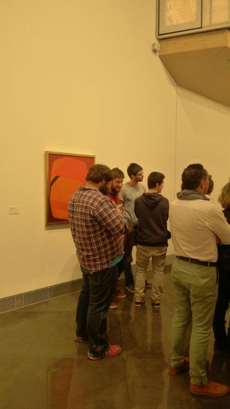 La visita forma parte de la asignatura Proyectos de Diseño Gráfico II