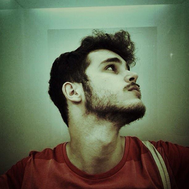 El joven diseñador Daniel Oteiza