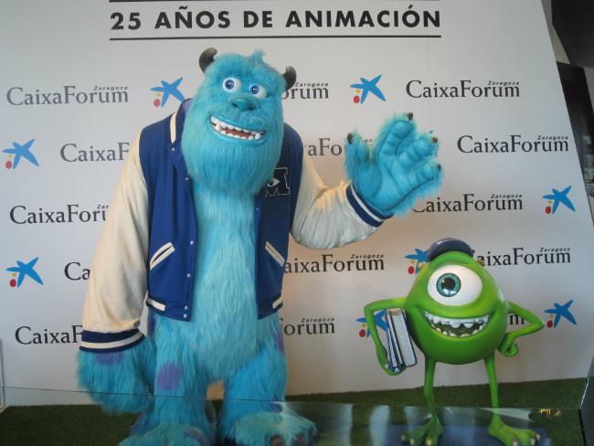 exposición Pixar Zaragoza