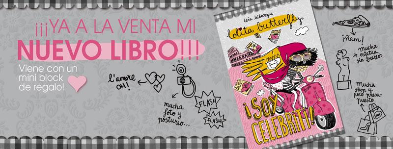 Nuevo libro de Idoia Iribertegui: Soy celebriti