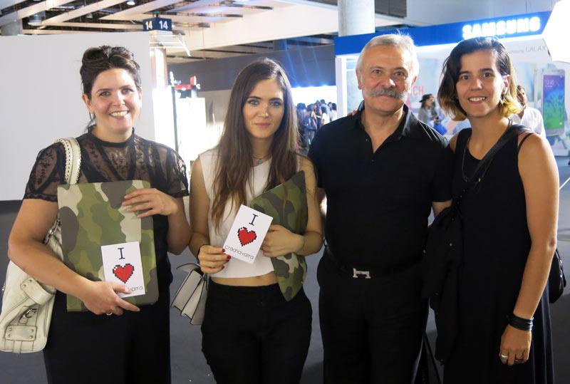 Las alumnas de Creanavarra tuvieron la oportunidad de conversar con personas de la industria como el crítico de moda Pedro Mansilla