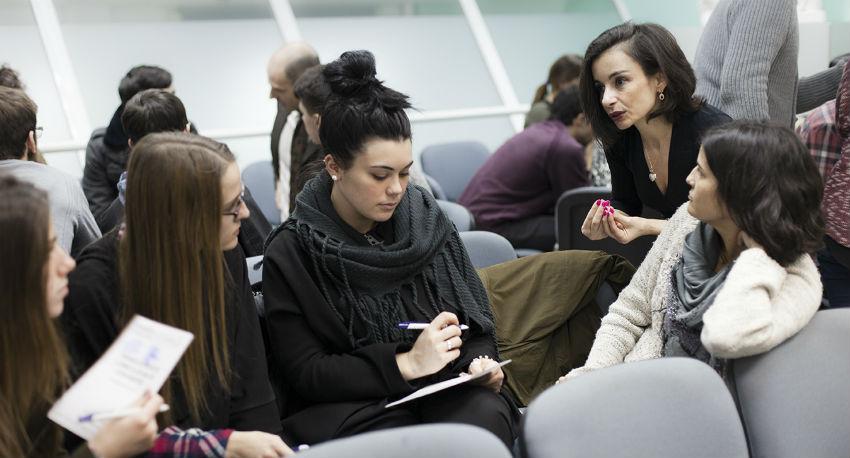 Los alumnos expusieron su visión sobre cómo les gustaría implicarse profesionalmente en el ámbito del Diseño
