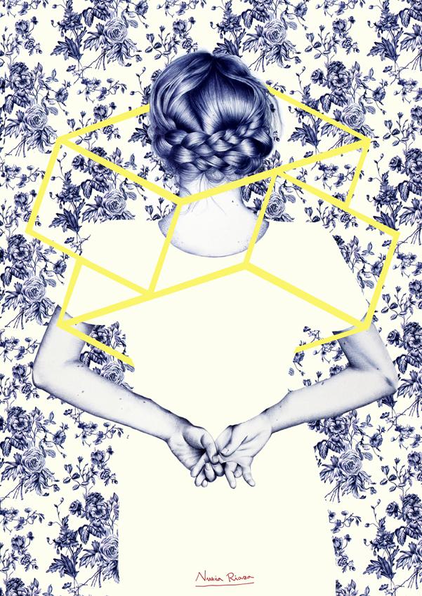 Diseño para Inditex de Nuria Riaza