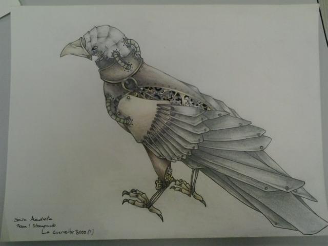 Diseño realizado por Sonia Mendieta, estudiante de Diseño y Creación de Videojuegos de Creanavarra