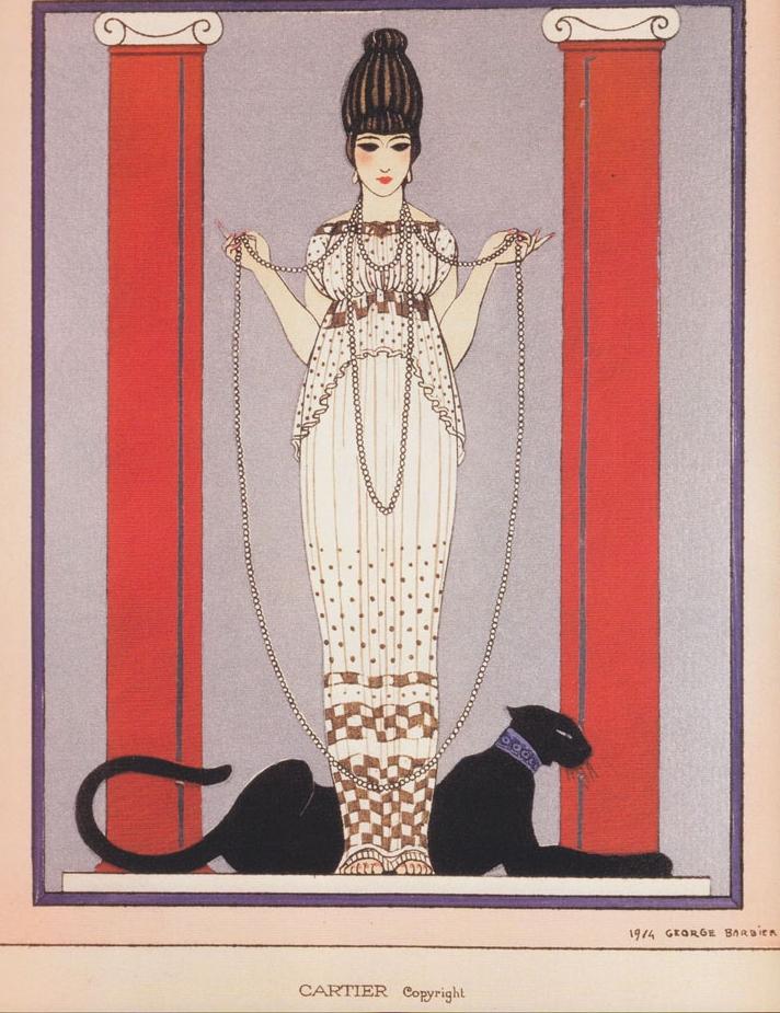 Diseño de Barbier que se convirtió en marca registrada de Cartier