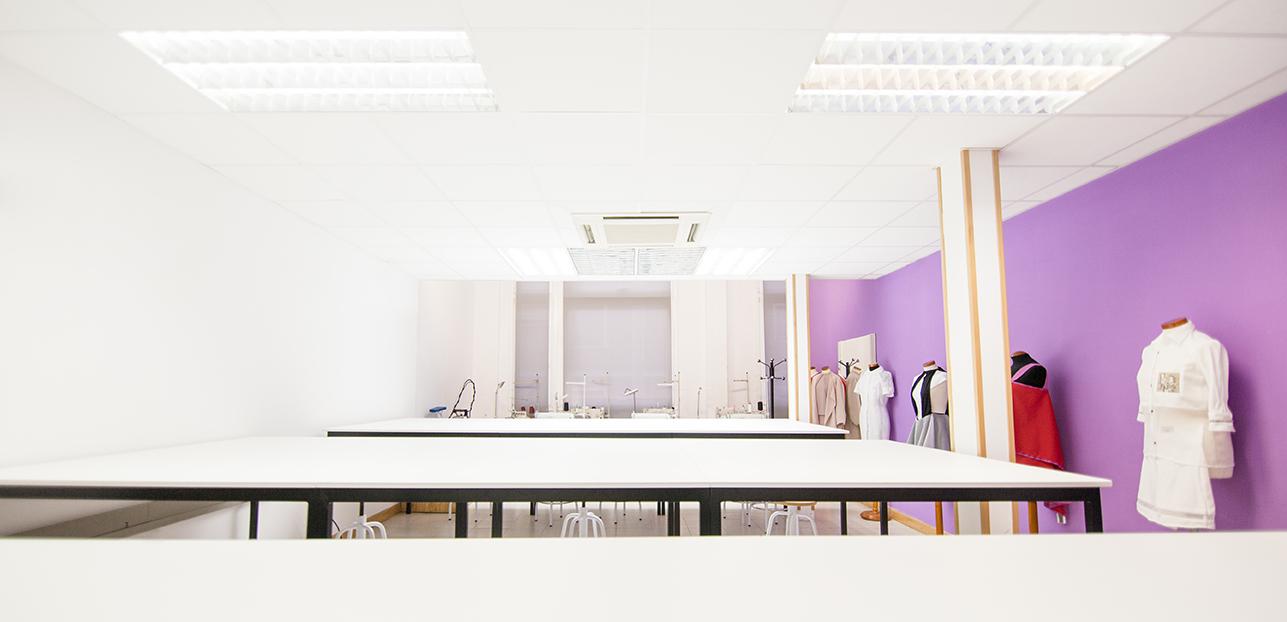 Ampliación del taller de moda en Creanavarra