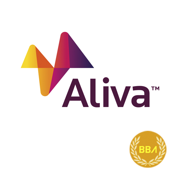 Logotipo de la empresa de consulting Aliva