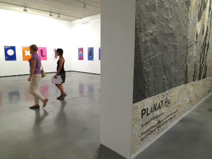 Plakat hu estará abierta en el Centro Huarte hasta el 5 de octubre