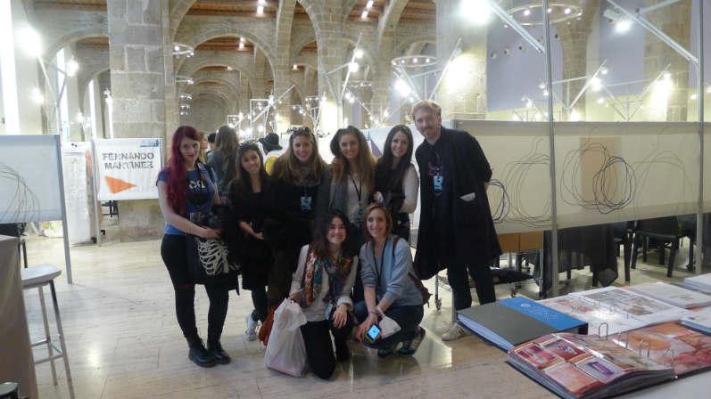 alumnos diseño de moda en STIB_Creanavarra